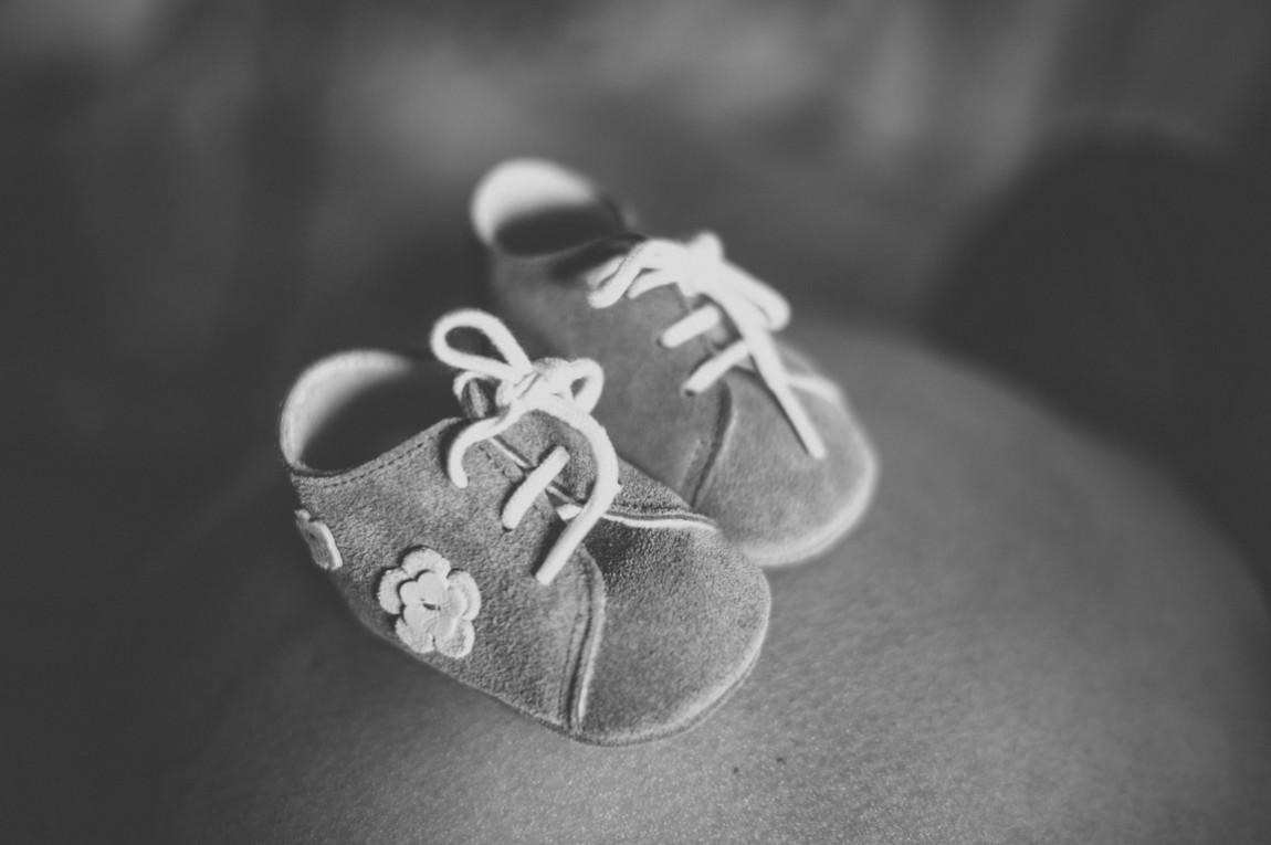 Baby shoes photographed by rozimages