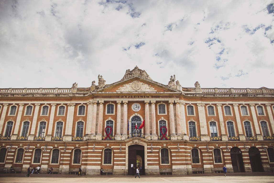 rozimages - photographie de voyage - architecture - bâtiment - Capitole, Toulouse, France