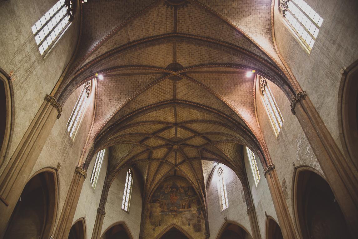 rozimages - photographie de voyage - architecture - intérieur d'église - Musée des Augustins, Toulouse, France