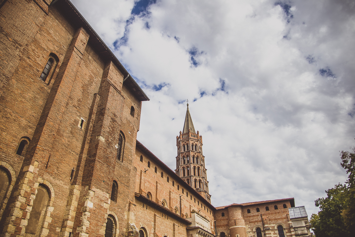 rozimages - photographie de voyage - architecture - église - Basilique Saint Sernin, Toulouse, France