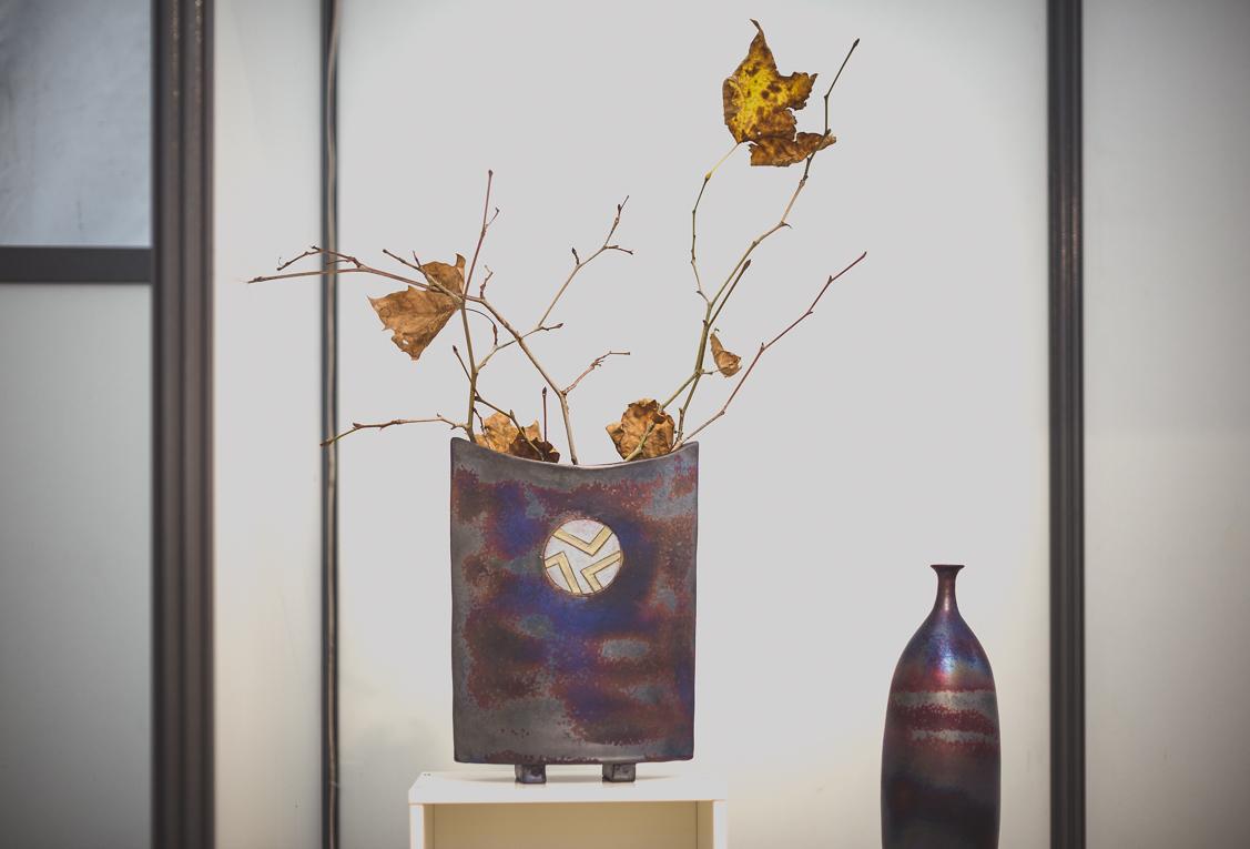rozimages - photographie évènementielle - Salon des Arts et du Feu 2015 - potterie en présentation - Martres-Tolosane, France