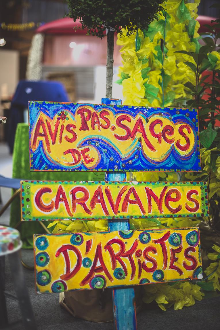 rozimages - photographie évènementielle - Salon des Arts et du Feu 2015 - panneau coloré - Martres-Tolosane, France