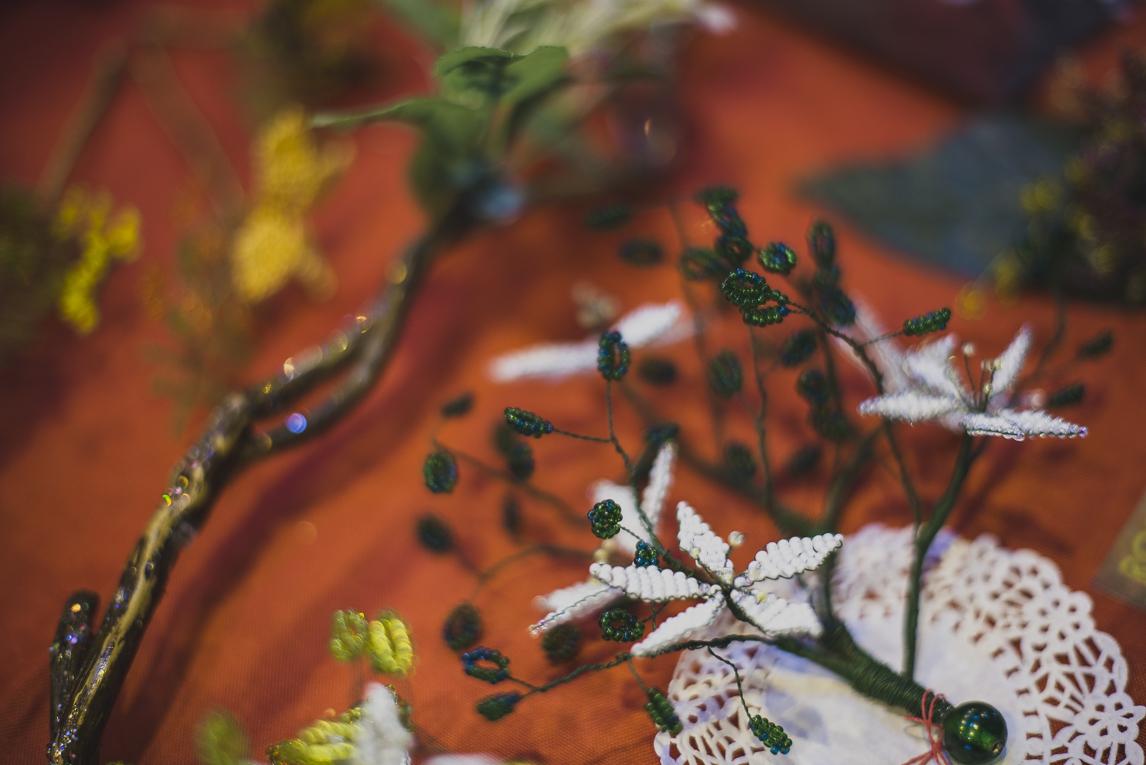 rozimages - photographie d'évènement - évènement communautaire - Marché de Noël 2015 - créations de perles - Mondavezan, France