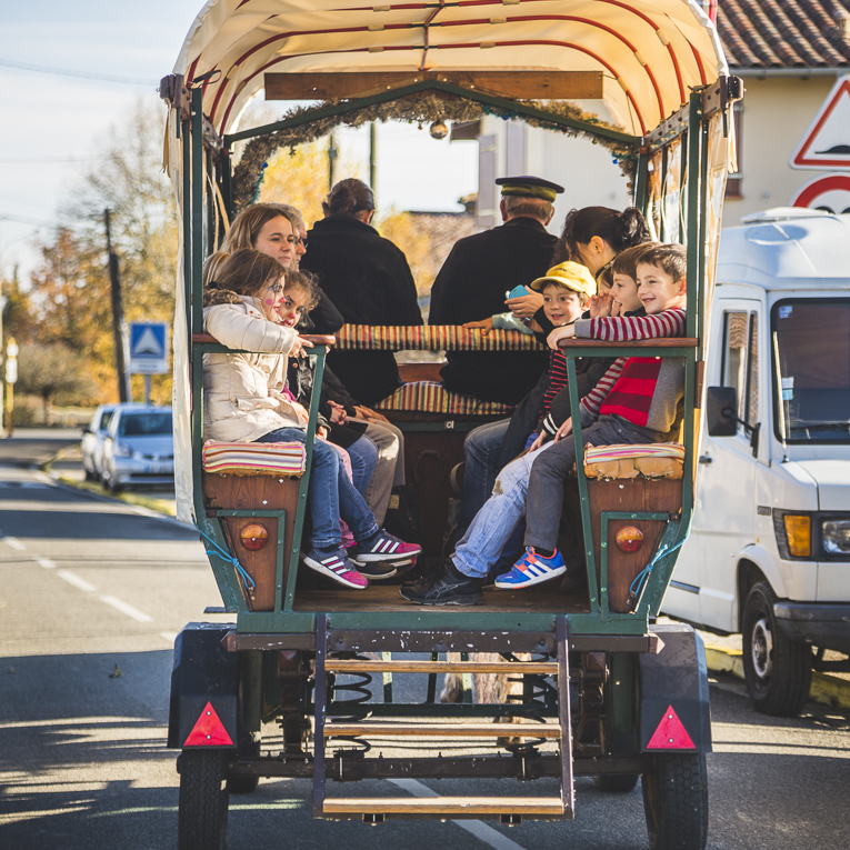 rozimages - event photography - community event - Christmas Market 2015 - carriage - Mondavezan, France