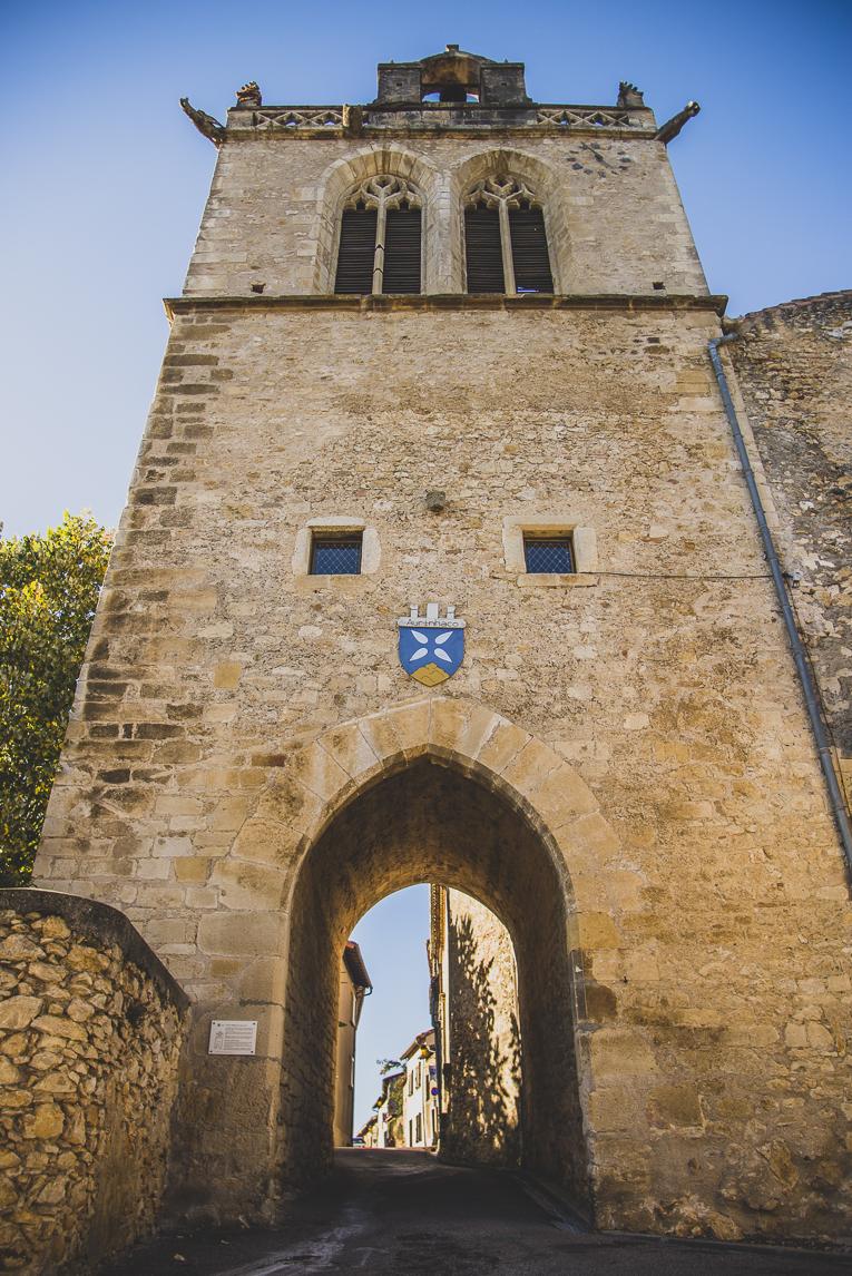 rozimages - photographie de voyage - donjon - Aurignac, France