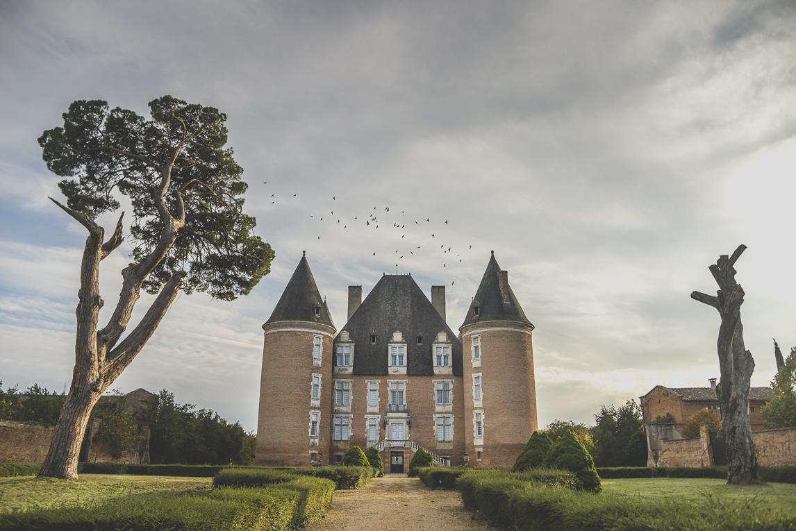rozimages - photographie de voyage - château - St-Elix-le-Château, France