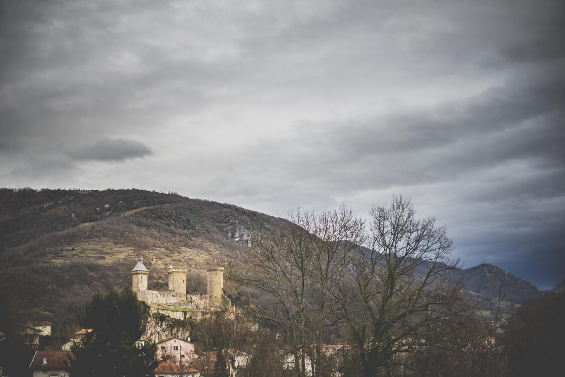rozimages - travel photography - castle - Foix, France