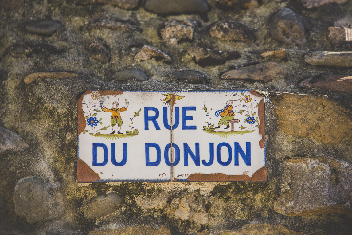 rozimages - travel photography - street sign - Martres-Tolosane, France