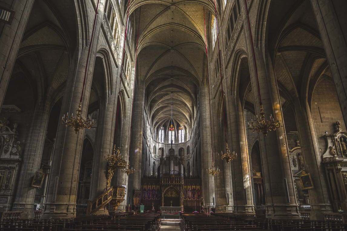 Photo of the French town of Auch - cathedral - Auch Photographer