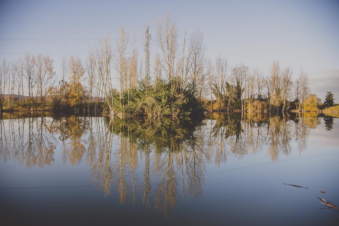 Séance Portrait en Midi-Pyrénées - vue paysage et lac - Portrait Photographer