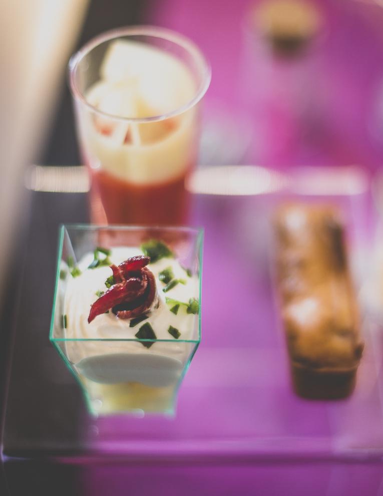 Salon Bien-être et Créations - Shot-glass appetizers - Event Photographer