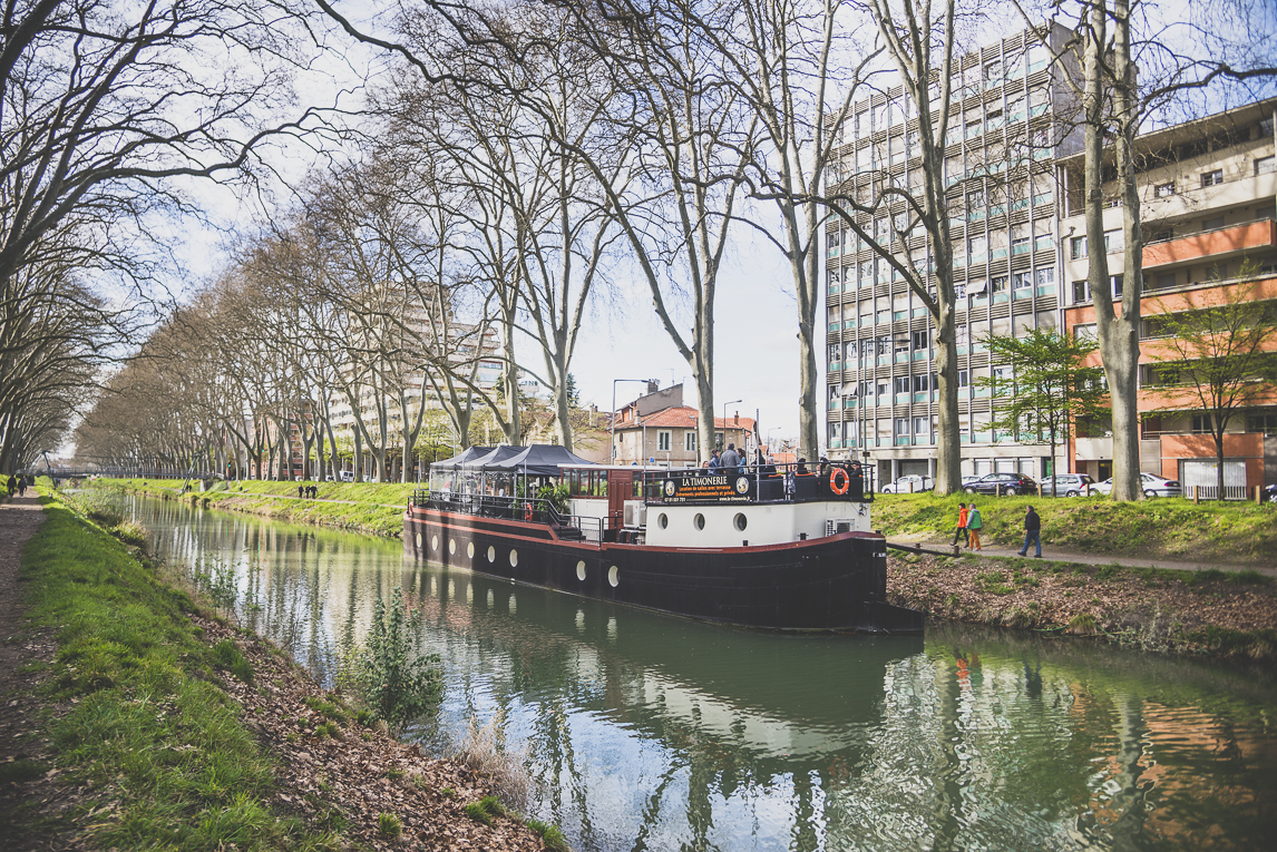 Salon Bien-être et Créations Toulouse - péniche La Timonerie sur le canal de Brienne à Toulouse - Photographe évènementiel