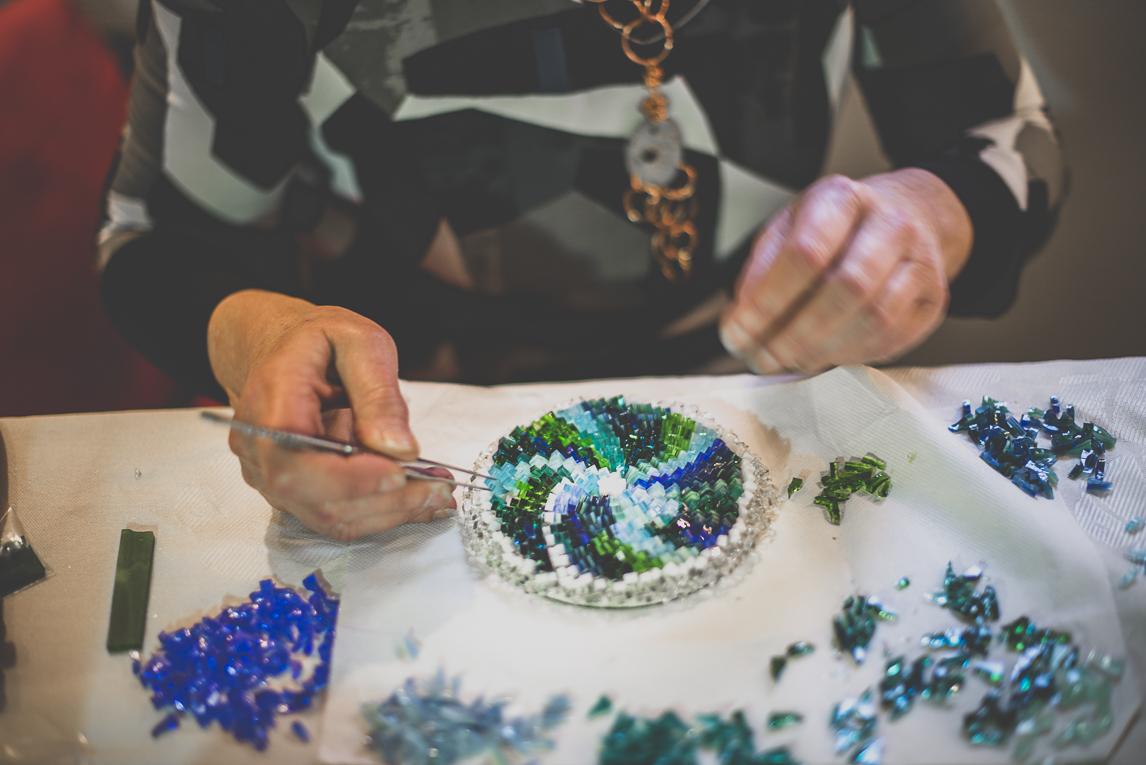 Salon Bien-être et Créations - mosaic artist - Event Photographer