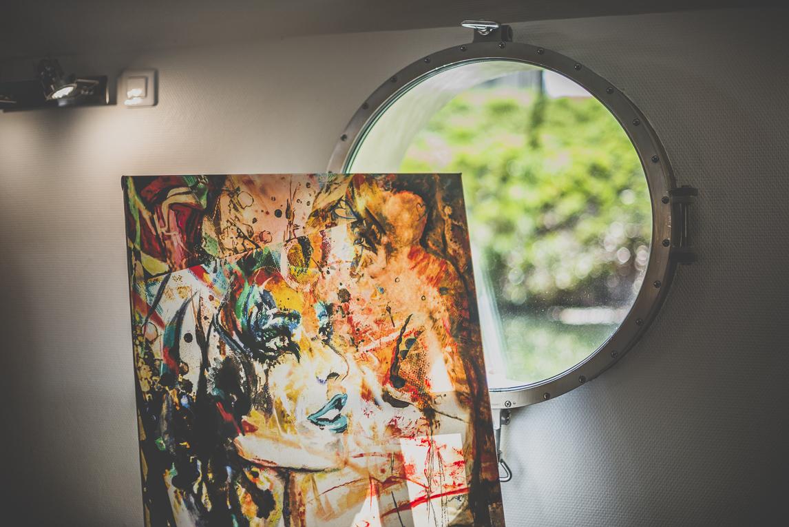 Salon Bien-être et Créations - painting Jenny Dufraisse - Event Photographer
