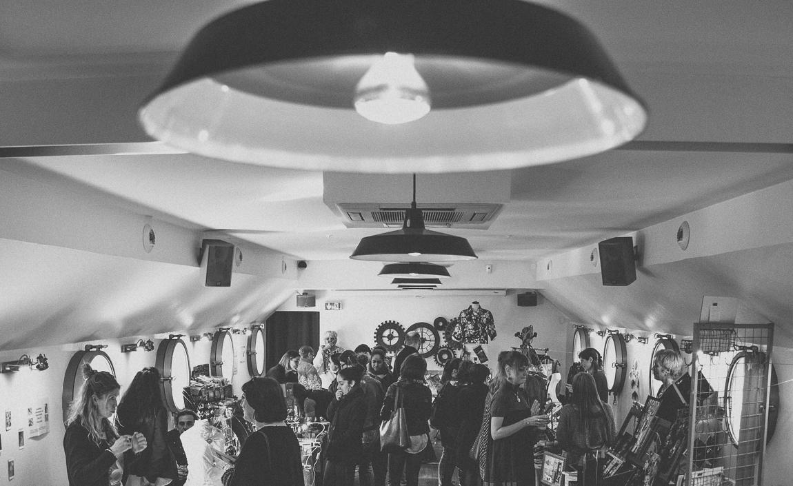 Salon Bien-être et Créations Toulouse - allée de stands - Photographe évènementiel