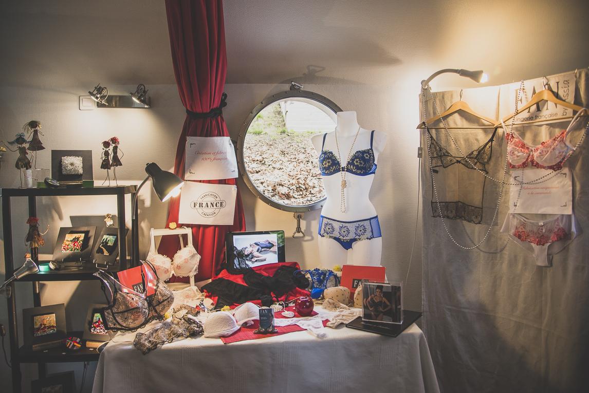 Salon Bien-être et Créations - Lingerie display - Event Photographer
