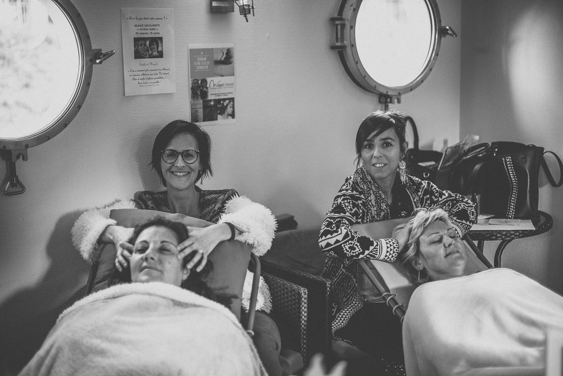 Salon Bien-être et Créations Toulouse - séance massage - Photographe évènementiel
