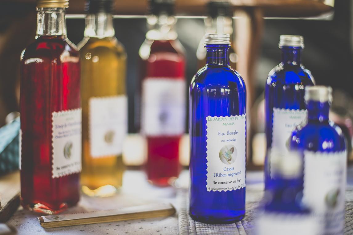Salon Bien-être et Créations - Colourful bottles - Event Photographer