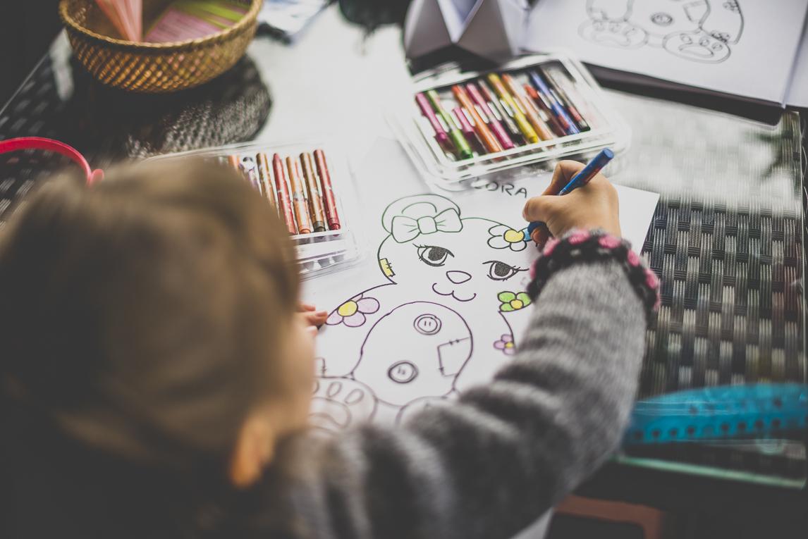 Salon Bien-être et Créations - Children craft activities - Event Photographer