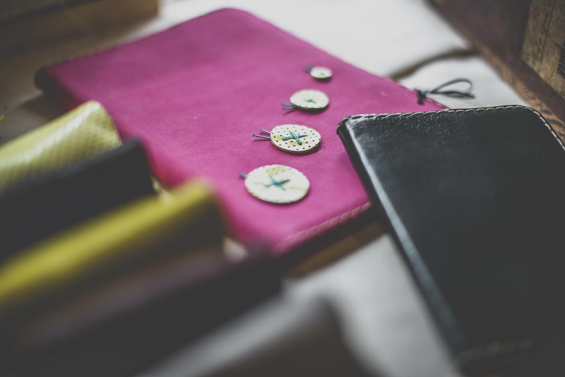 Salon Bien-être et Créations - Leather notepad - Event Photographer