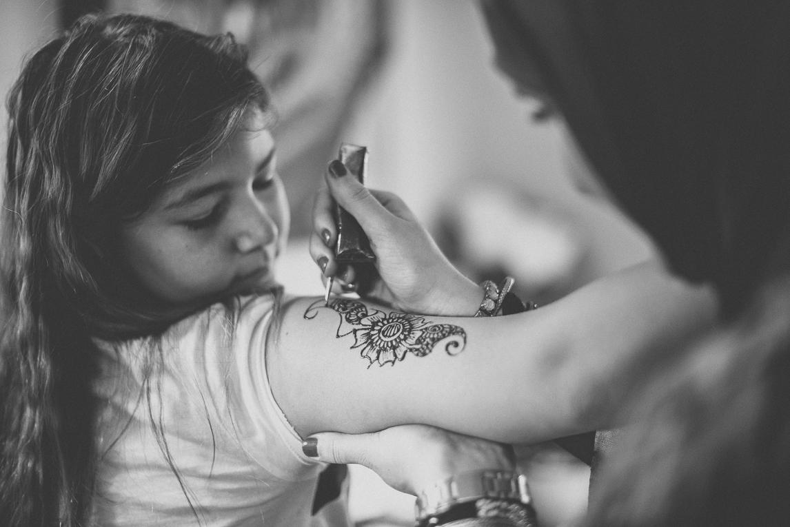 Salon Bien-être et Créations Toulouse - Tatouage au henné - Photographe évènementiel