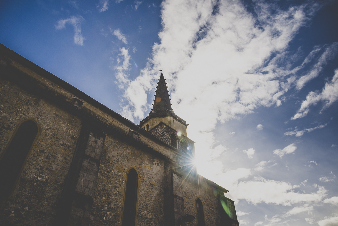 Photo de la ville de Saint-Girons - église - Photographe Saint-Girons