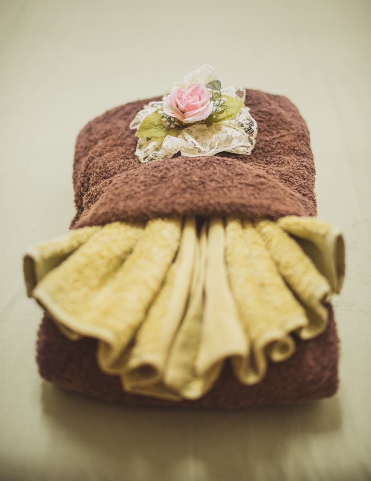 Thai Touch Massage Utopia Broome - towels displayed - Commercial Photographer