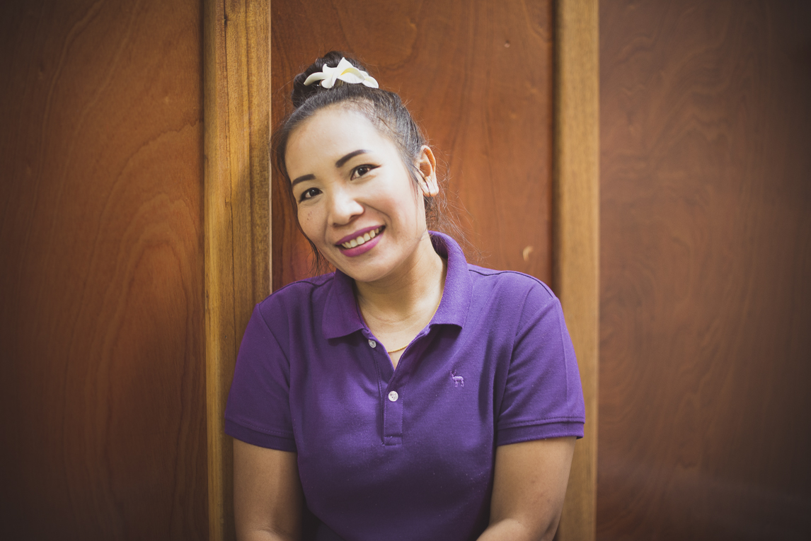 Thai Touch Massage Utopia Broome - portrait of massage therapist - Commercial Photographer