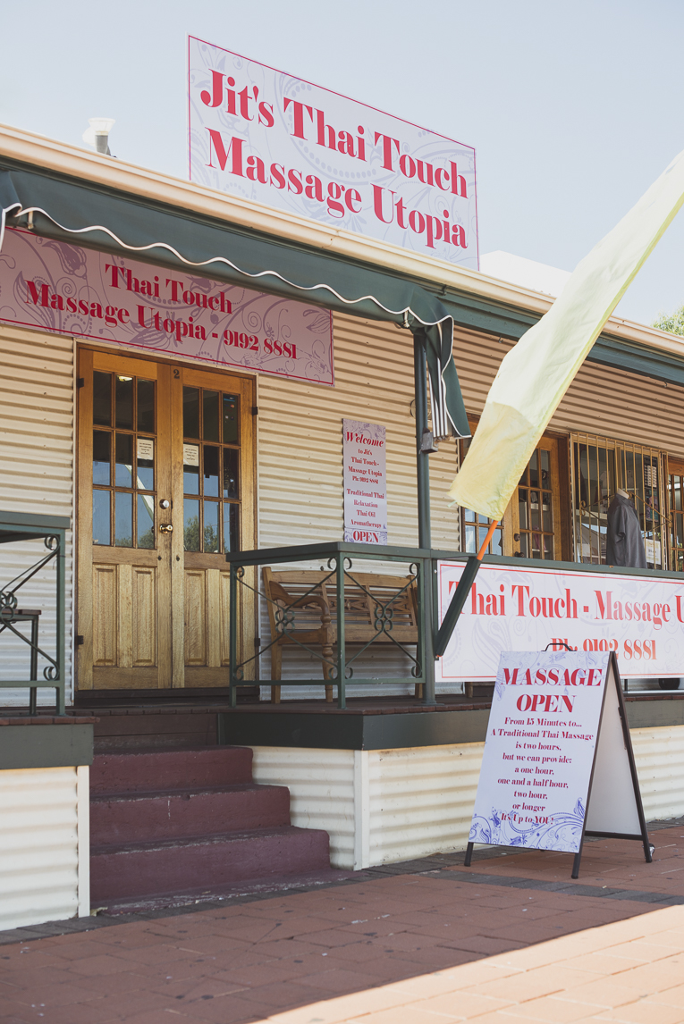 Thai Touch Massage Utopia Broome - Entrance of massage centre - Commercial Photographer
