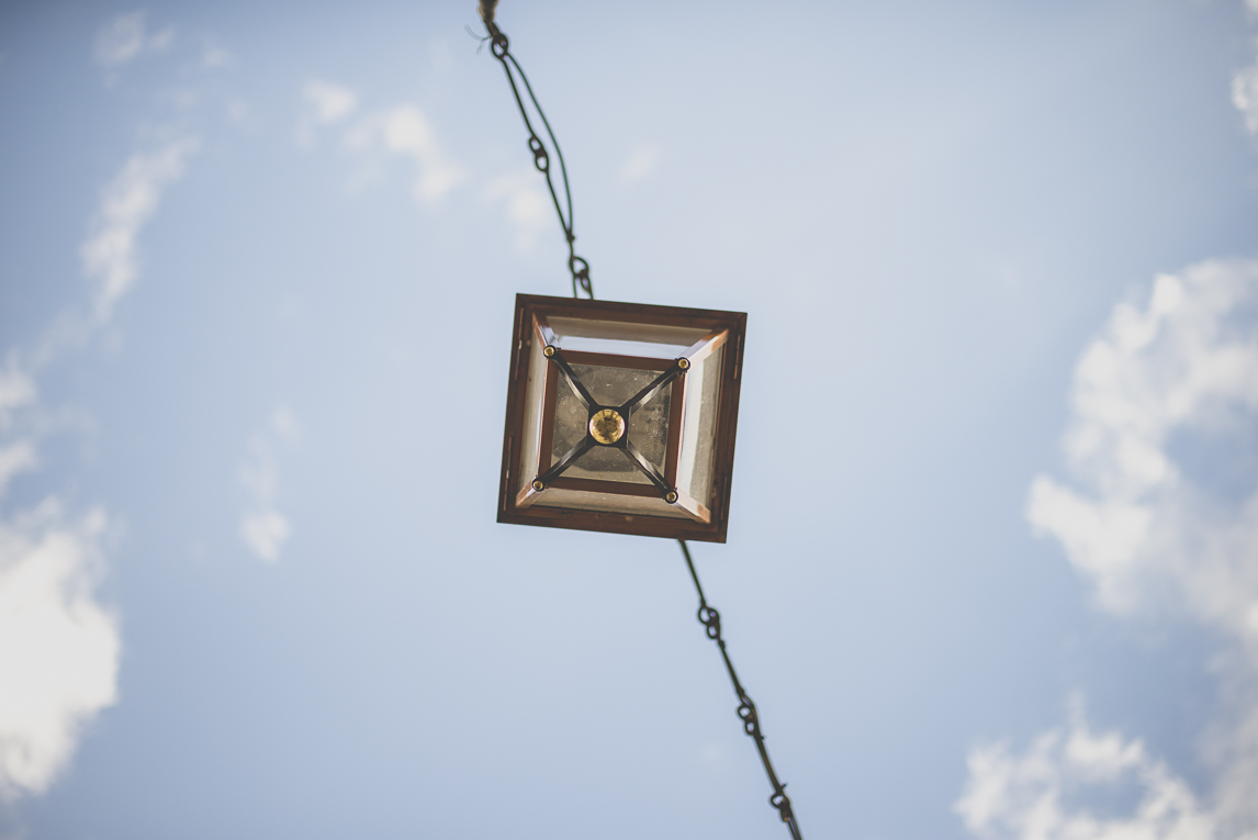 Photo of the French town of Saint-Gaudens - hanging street light - Saint-Gaudens Photographer