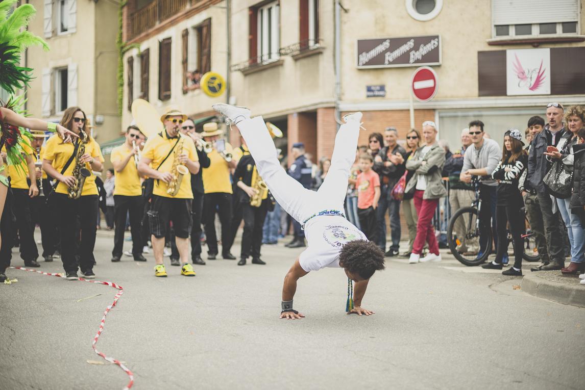 Fête des fleurs Cazères 2016 - danceur de capoeira - Photographe évènementiel