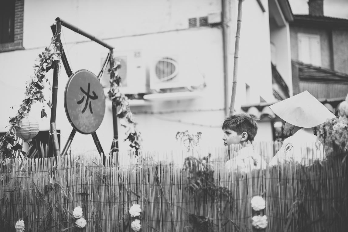 Fête des fleurs Cazères 2016 - enfant sur char décoré - Photographe évènementiel