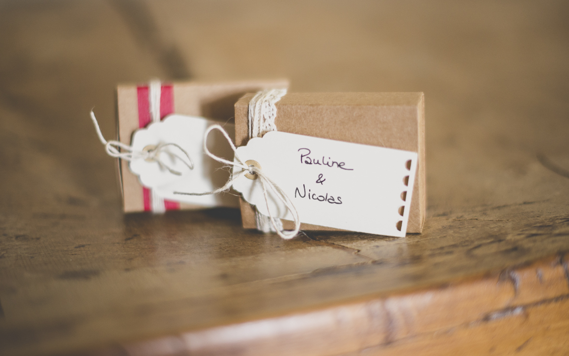 Photographer USB packaging - small packaging boxes with label - Photographer Toulouse