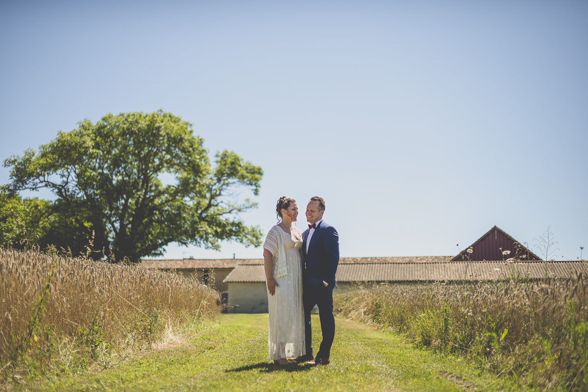 Wedding Photography South West France - photo session of bride and groom - Wedding Photographer