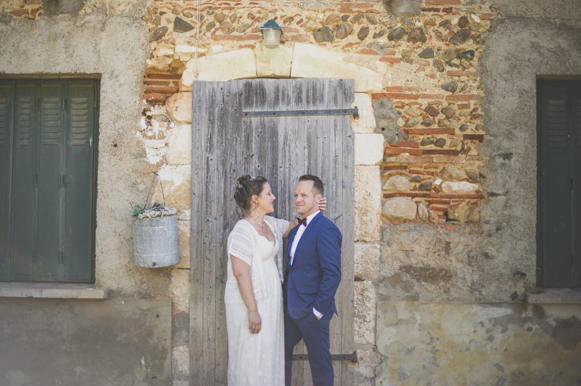Reportage mariage Sud-Toulousain – séance photo des mariés