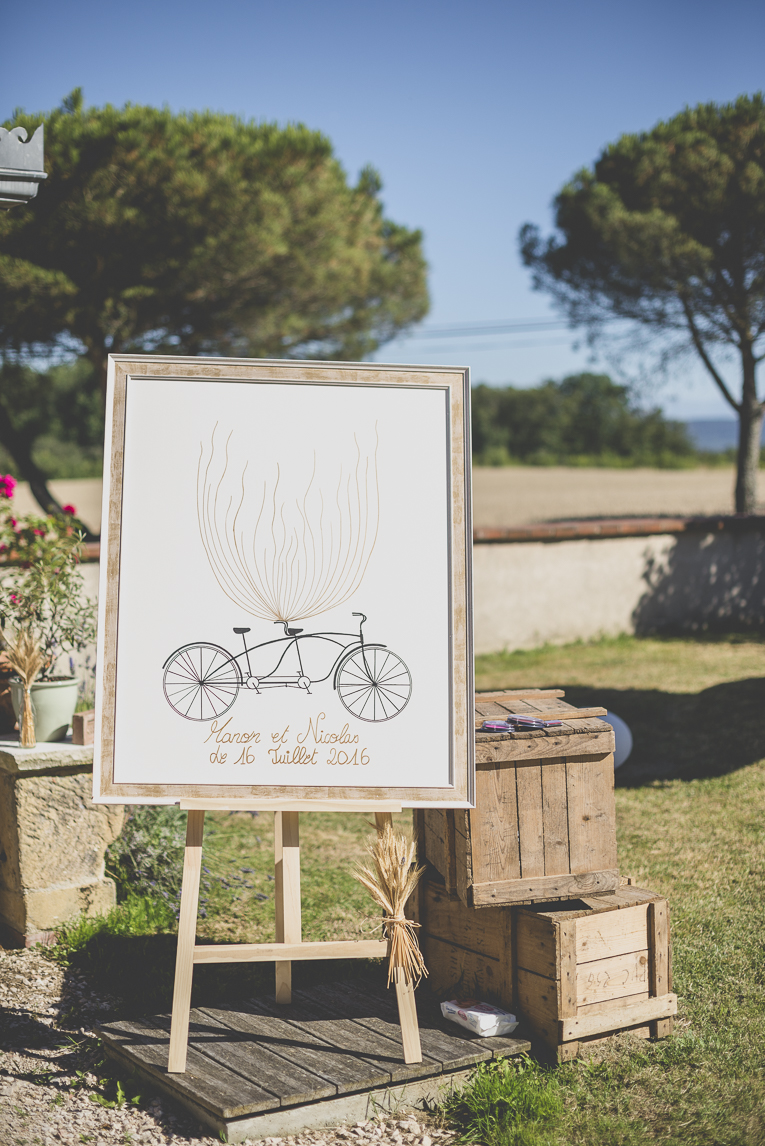 Wedding Photography South West France - framed canvas for married couple - Wedding Photographer