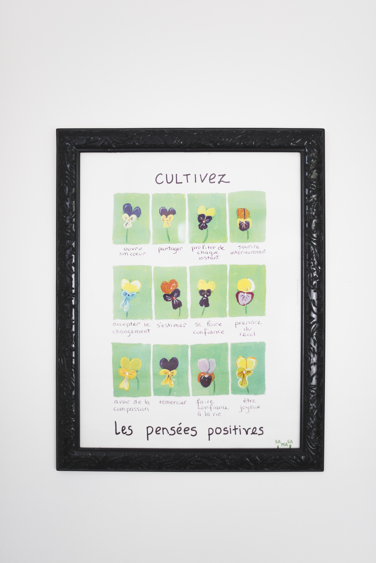 Toulouse therapist Magali Danel - framed drawing - Commercial Photographer