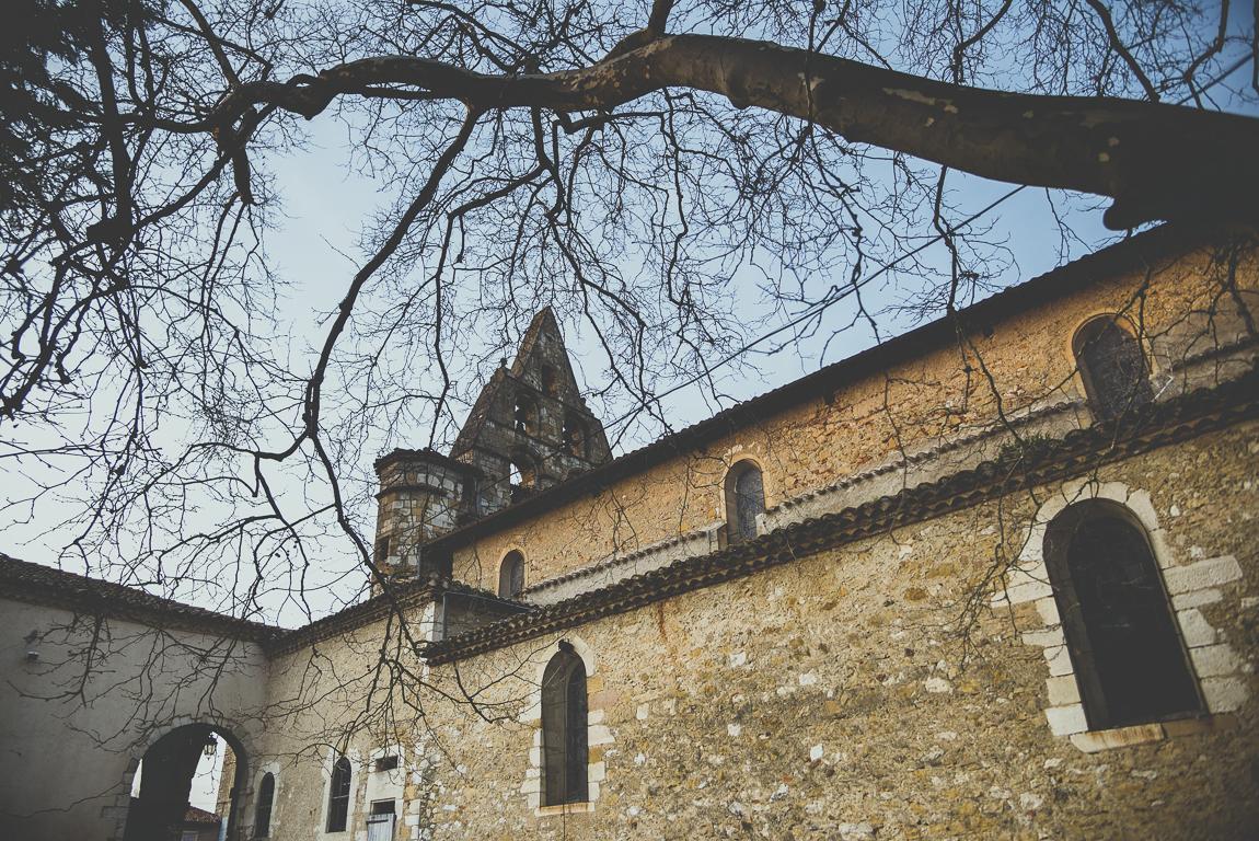 Reportage village Alan - église - Photographe voyage