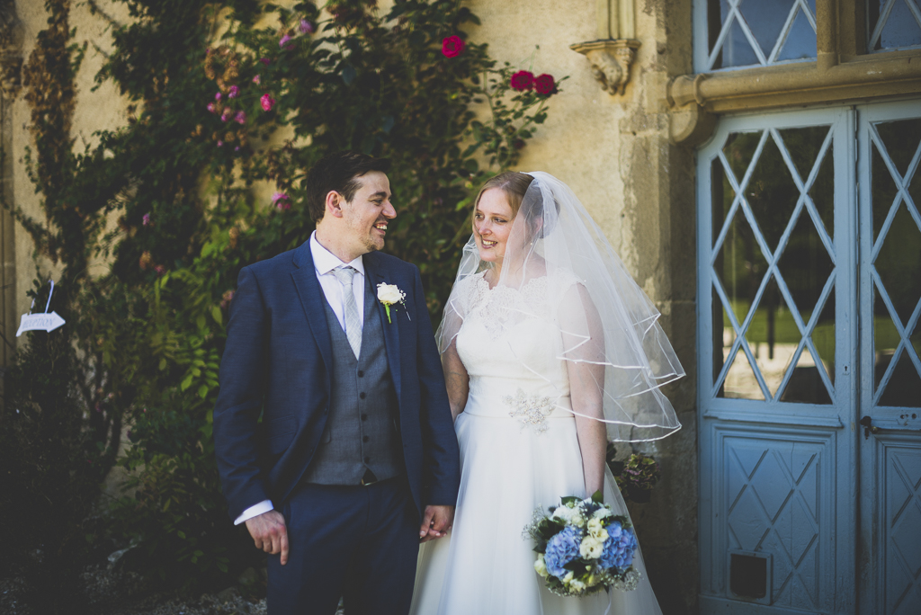 Wedding Photography French château - portrait of bride and groom - Wedding Photographer