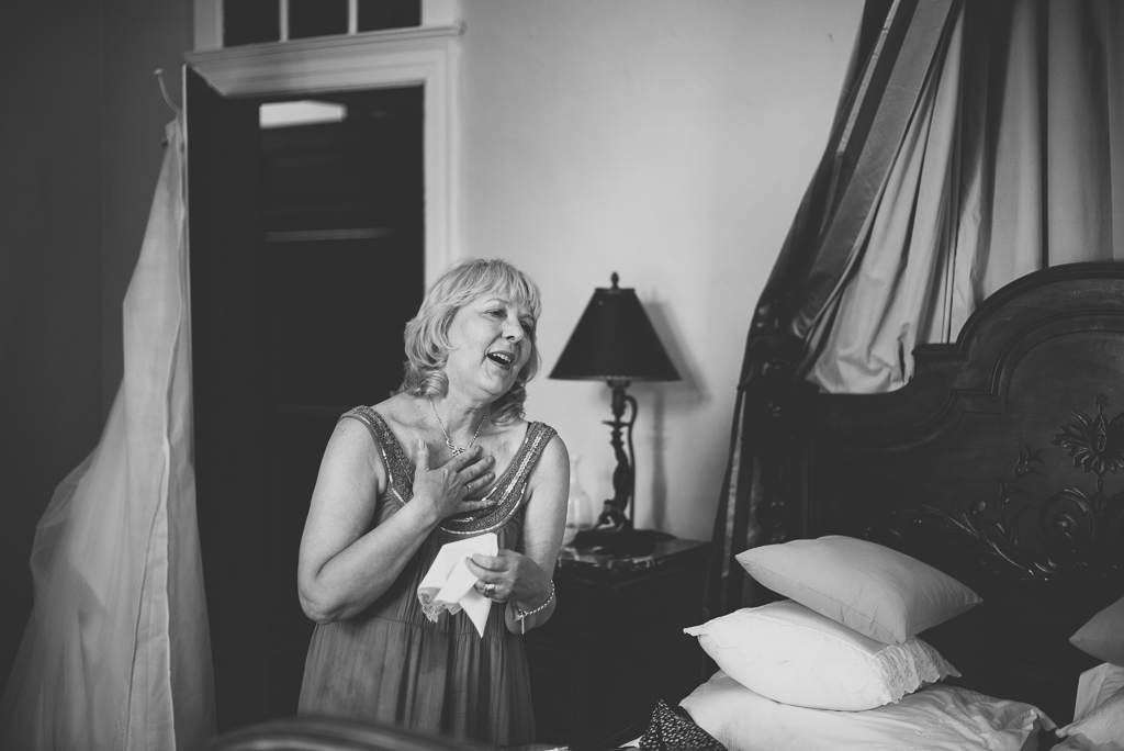 Wedding Photography French château - mum of bride - Wedding Photographer