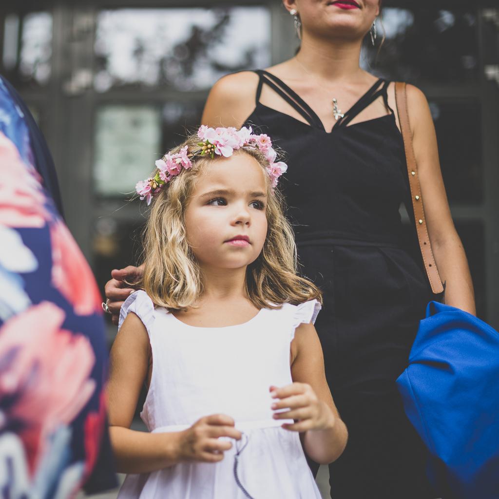 Reportage mariage Toulouse - portrait de petite fille - Photographe mariage