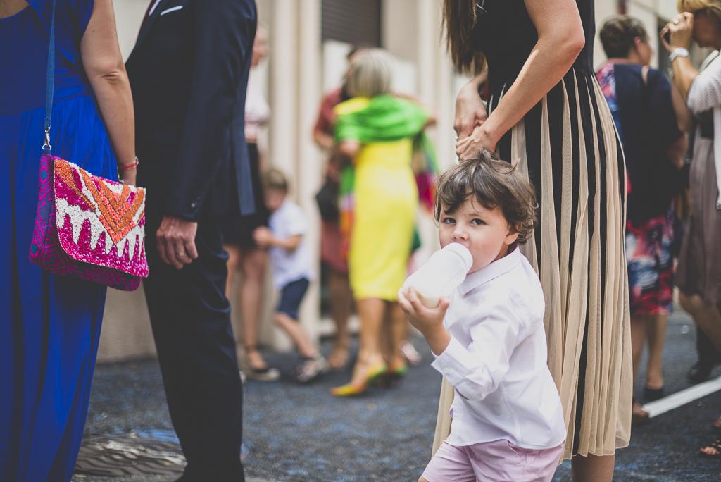 Reportage mariage Toulouse - petit garçon - Photographe mariage
