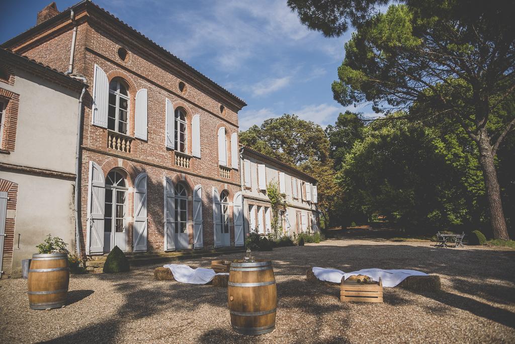 Reportage mariage Toulouse - domaine de gailhaguet - Photographe mariage
