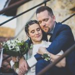 Winter wedding photography Toulouse - portrait of bride and groom - Wedding Photographer Toulouse