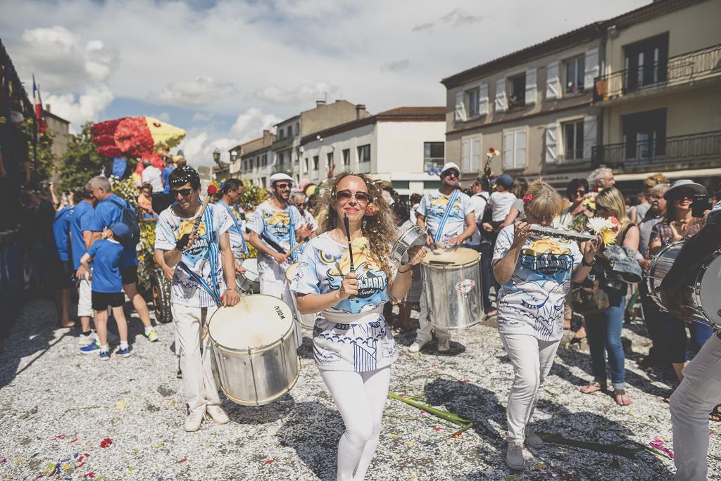 Fete des fleurs Cazeres 2018 - fanfare - Photographe Haute-Garonne