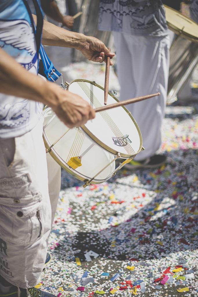 Fete des fleurs Cazeres 2018 - joueur de tambour - Photographe Haute-Garonne