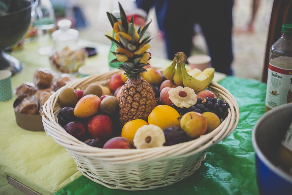Reportage mariage Haute-Garonne - corbeille de fruits - Photographe mariage