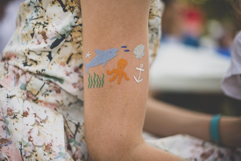 Reportage mariage Haute-Garonne - tatouage sur bras - Photographe mariage