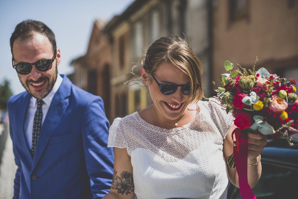 Reportage mariage Haute-Garonne - mariés - Photographe mariage