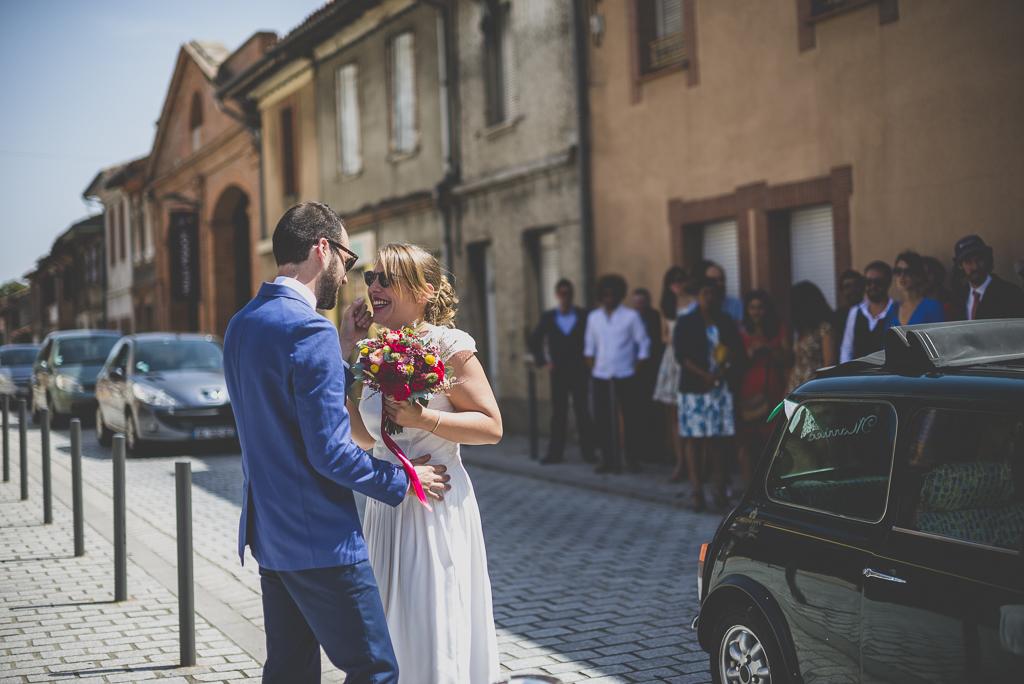Reportage mariage Haute-Garonne - découverte des mariés - Photographe mariage